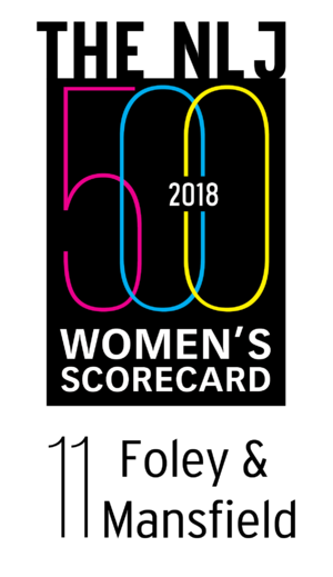 2018 National Law Journal Women's Scorecard